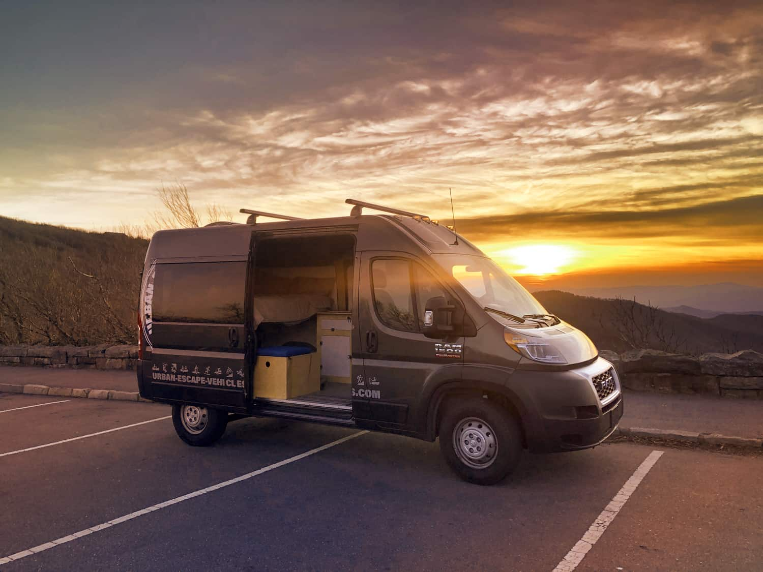 Rent this 2019 Dodge Promaster Van Specially Built For Camping
