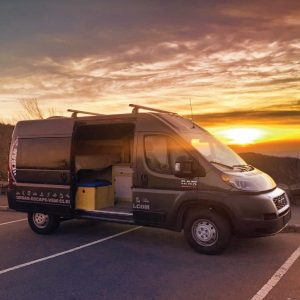 Sunset with the Promaster