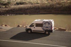 2021 Promaster campervan in Moab Utah