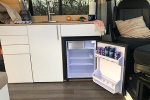 Kitchen of the 2021 Dodge Promaster Campervan
