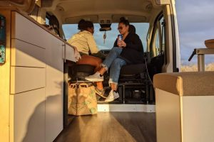 Interior 2021 Dodge Promaster Campervan